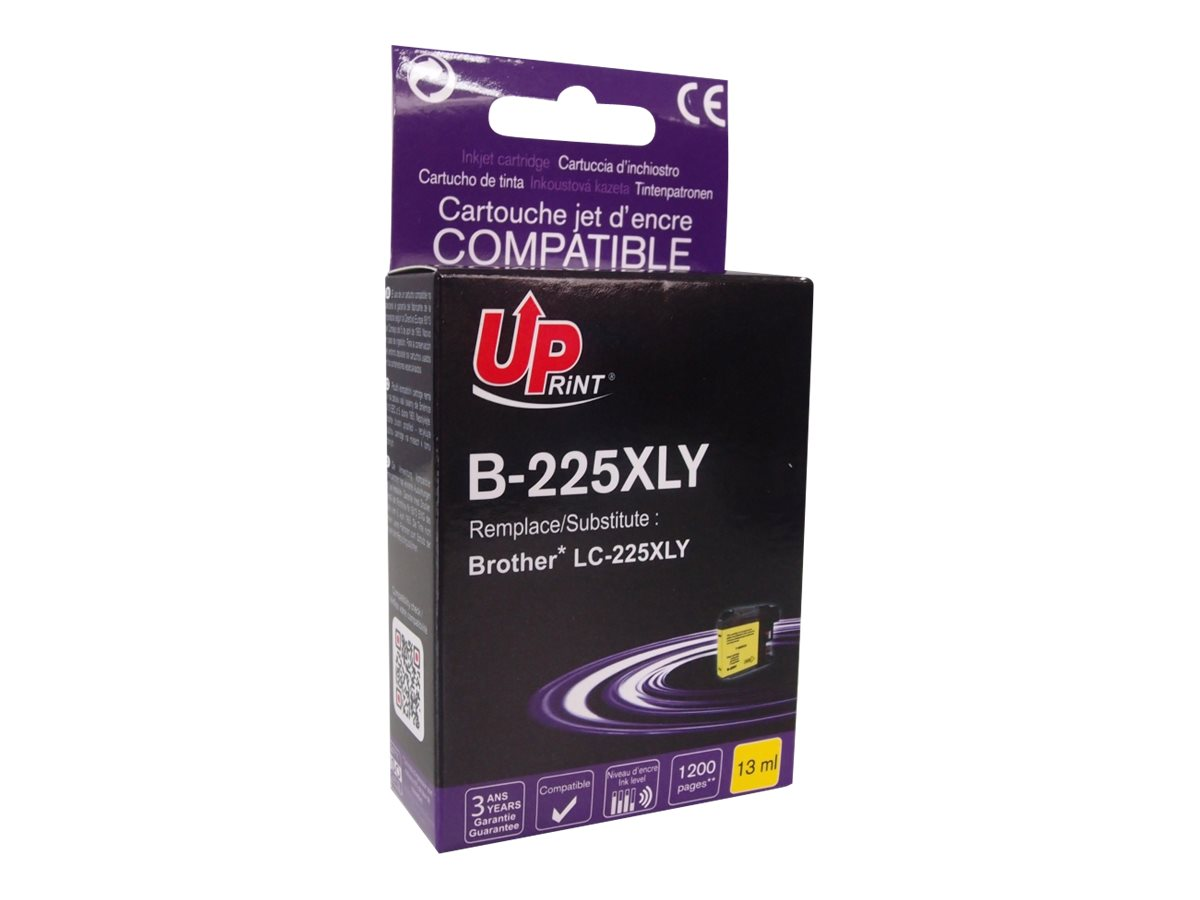 Brother LC225XL compatible Uprint - à rendement élevé - magenta - cartouche d'encre