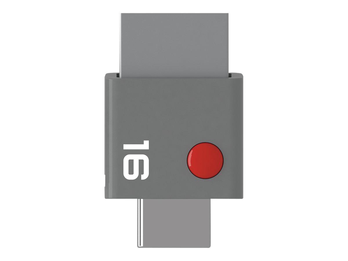 EMTEC DUO - clé USB - 16 Go
