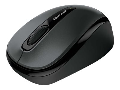 Image of Microsoft Wireless Mobile Mouse 3500 - mouse - 2.4 GHz - lochness grey