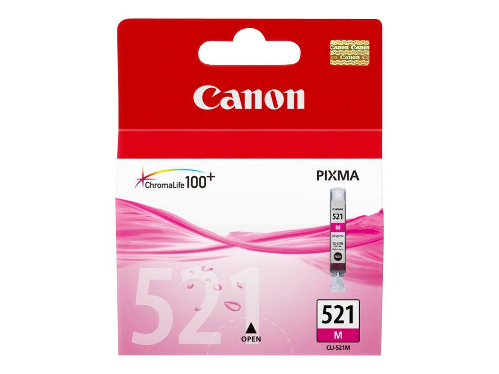 Canon CLI-521M - magenta - originale - réservoir d'encre