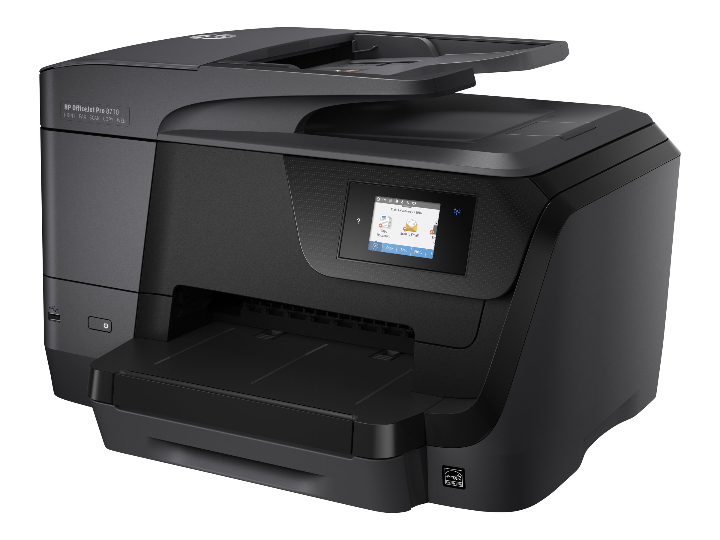 hp officejet pro 8710 all in one imprimante multifonctions couleur imprimantes jet d 39 encre. Black Bedroom Furniture Sets. Home Design Ideas