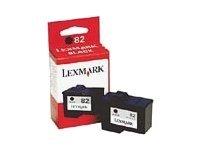 Lexmark Cartridge No. 82 - noir - originale - cartouche d'encre