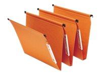 Fast Standard - 25 Dossiers suspendus - pour armoire - 15 mm - orange