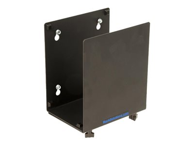 RackSolutions - Wall mount for personal computer / UPS - powder coated black