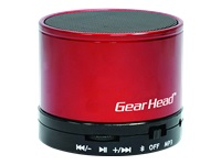 Gear Head BT3500RED Speaker - for portable use - wireless - red - Speaker - for portable use - wireless - red