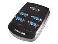 STARTECH.COM  4 Port Wall Mount VGA Video SplitterST124WEU