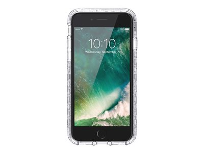 Griffin Survivor Journey - Back cover for cell phone - rugged - polycarbonate, thermoplastic polyurethane - clear - for Apple iPhone 6, 6s, 7