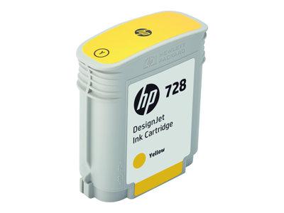 HP 728 - 300 ml - azurová - originál - DesignJet - inkoustová cartridge