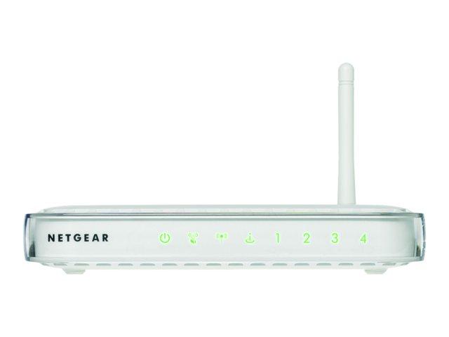 Image of NETGEAR WGR614 - wireless router - 802.11b/g - desktop
