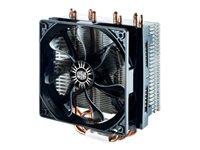 Cooler Master Hyper T4 - Disipador para procesador - (para: LGA775, LGA1156, AM2, LGA1366, AM3, LGA1155, AM3+, LGA2011, FM1, FM2, LGA1150, FM2+, LGA1151, AM4, LGA2066)