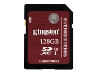 KINGSTON, 128GB SDXC UHS-I Speed Class Flash Card