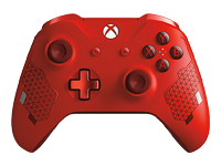 Microsoft Xbox Wireless Controller - Sport Red Special Edition - gamepad - wireless - Bluetooth - red - for PC, Microsoft Xbox One, Microsoft Xbox One S, Microsoft Xbox One X