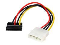 StarTech.com 4 Pin Molex to Left Angle SATA Power Cable Adapter
