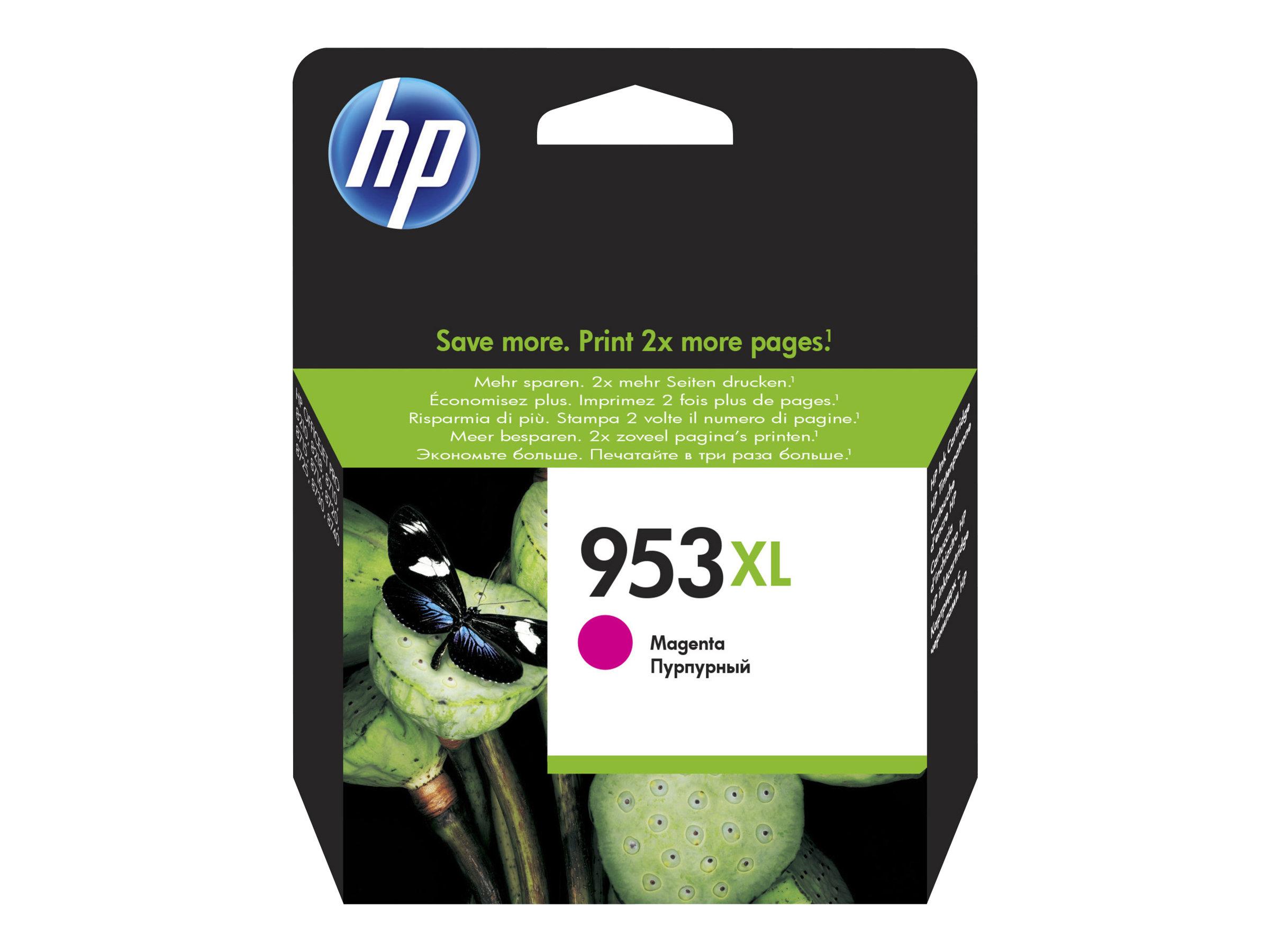 HP 953XL - à rendement élevé - magenta - originale - cartouche d'encre