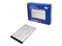 "LogiLink Lagringspakning 2.5"" SATA 3Gb/s 300 MBps USB 3.0 sølv"