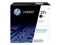 HP 37Y - Extra High Yield - black - original - LaserJet - toner cartridge (CF237Y) - for LaserJet Enterprise M608, M609, MFP M633; LaserJet Enterprise Flow MFP M633