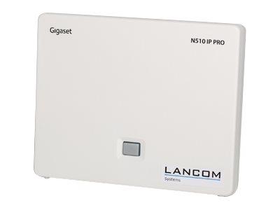 LANCOM DECT 510 IP - Wireless VoIP phone base station - DECT\GAP - SIP - 6 linek - bílá