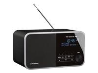 Grundig DTR 3000 DAB+ DAB-radio sort