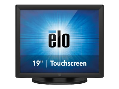 "Elo 1915L IntelliTouch - LCD monitor - 19"" - touchscreen - 1280 x 1024 - 225 cd/m² - 1000:1 - 5 ms - VGA - dark gray"
