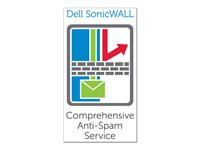 Dell SonicWALL Comprehensive Anti-Spam Service for TZ 210 Series