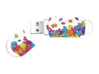 Integral Europe Cl�s USB INFD8GBXPRPUZZLE