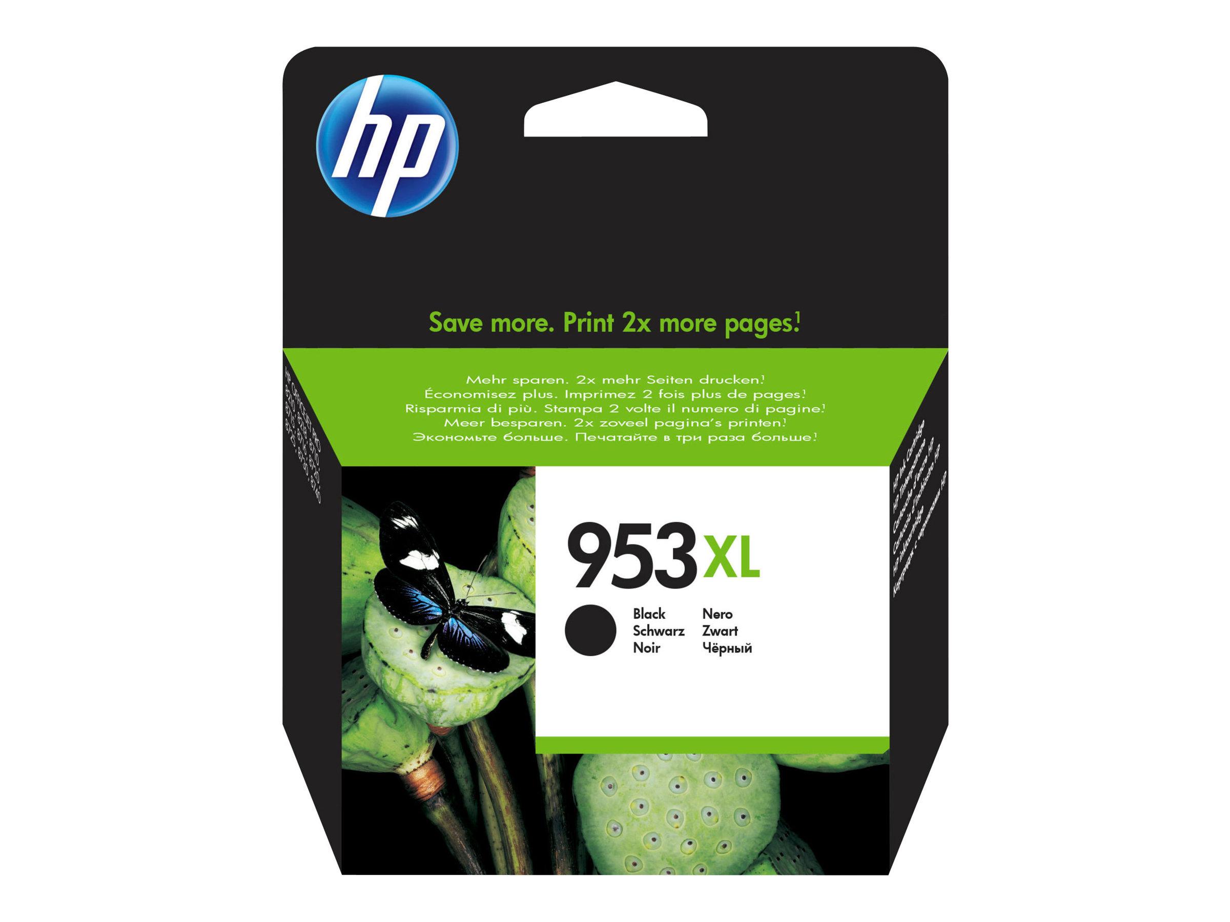 HP 953XL - à rendement élevé - noire - originale - cartouche d'encre