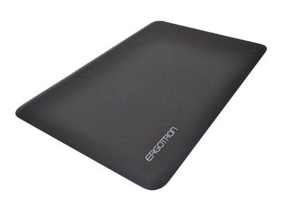 Ergotron WorkFit - Podlahová rohož - 91.4 cm x 61 cm - černá