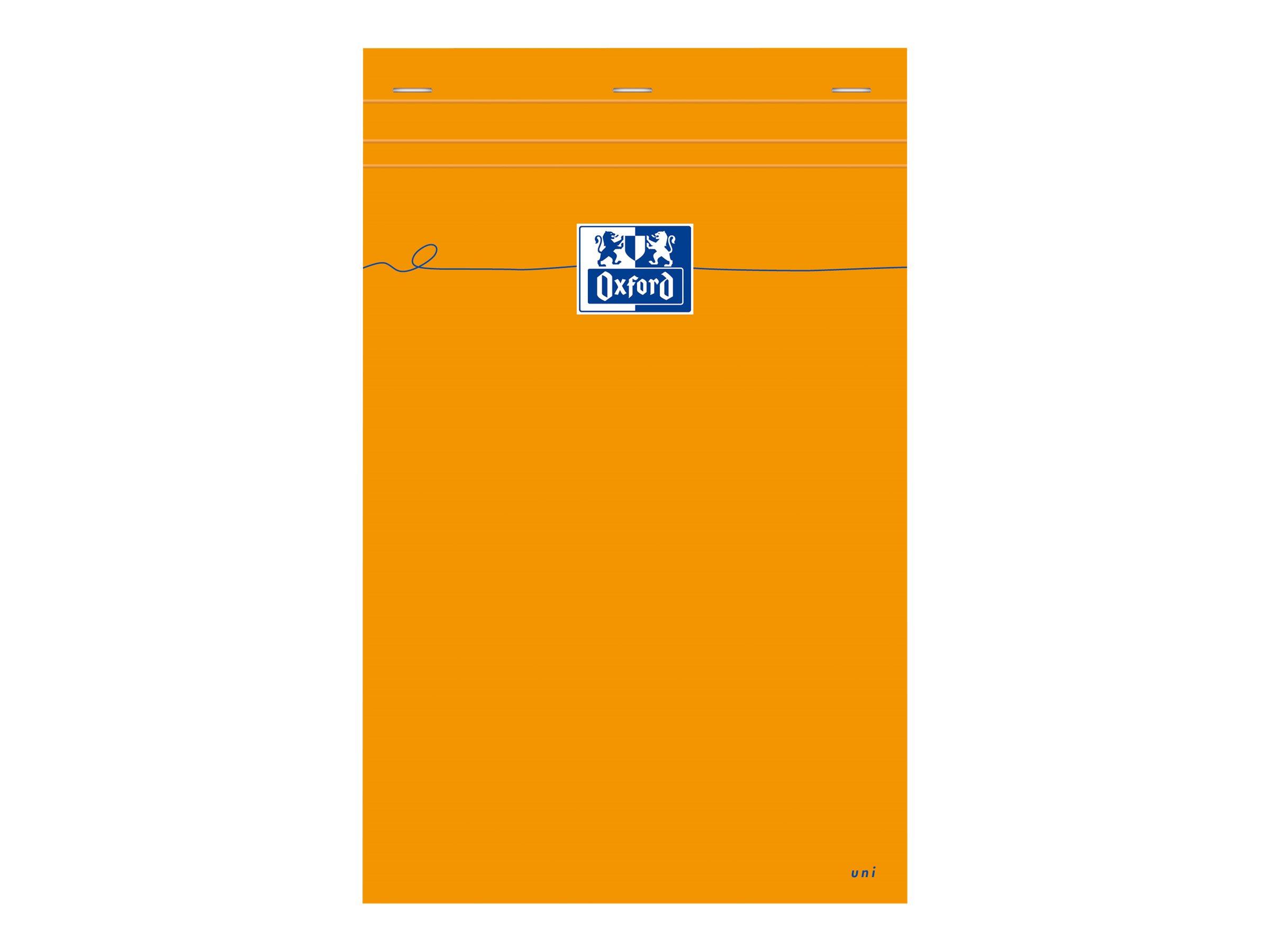 Oxford 5 Blocs Orange A4+ -  Bloc - 160 pages - uni - à l'unité ou par 10