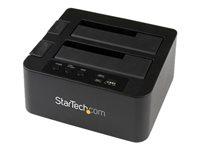 """StarTech.com Duplicateur autonome 1:1 disques durs SATA - Station d'accueil USB 3.0 / eSATA 2x HDD / SSD 2,5""""/3,5"""" - SATA 6Gb/s"""