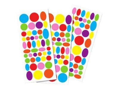 Oberthur grand format 135 gomettes rondes vives stickers et gommettes - Bureau vallee la rochelle ...
