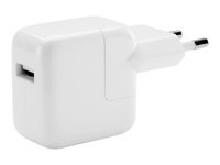 Apple 12W USB Power Adapter Strømforsyningsadapter 12 Watt