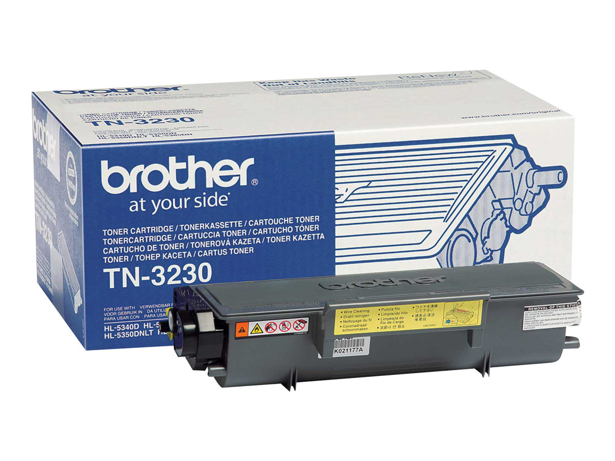 Brother TN3230 - noir - originale - cartouche de toner