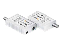 AXIS T8640 Ethernet Over Coax Adaptor PoE+ - convertisseur de support - Ethernet, Fast Ethernet