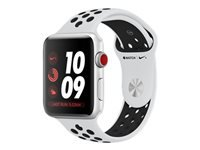 Apple Watch Nike+ Series 3 (GPS + Cellular) 38 mm sølvaluminium