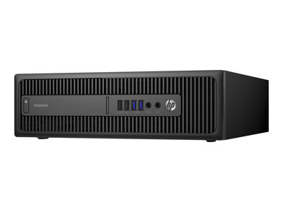HP EliteDesk 800 G2 - SFF - 1 x Core i7 6700 / 3.4 GHz - RAM 16 GB - SSD 256 GB - DVD SuperMulti - HD Graphics 530 - GigE - Win 7 Pro 64-bit (includes Win 10 Pro 64-bit License) - vPro - monitor: none