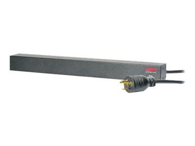 APC Basic Rack-Mount PDU - Pásek na rozvod silnoproudu ( k montáži na regál ) - AC 208 V - vstup: NEMA L6-20 - 12 výstupní konektor(y) ( IEC 320 EN 60320 C13 ) - 1U - 19