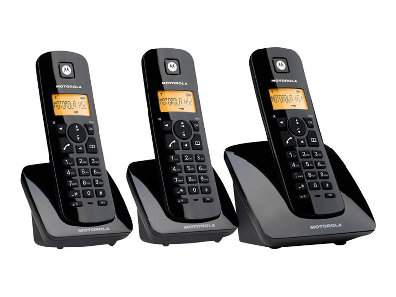 motorola c403 t l phone sans fil avec id d 39 appelant 2. Black Bedroom Furniture Sets. Home Design Ideas