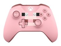 Microsoft Xbox Wireless Controller - Minecraft Pig - gamepad - wireless - Bluetooth - pink - for PC, Microsoft Xbox One, Microsoft Xbox One S, Microsoft Xbox One X