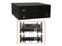 Tripp Lite UPS Smart Online 6000VA 5400W Rackmount 6kVA 208/240/120V USB DB9 Manual Bypass Hot Swap 6URM - UPS - 31.9 A