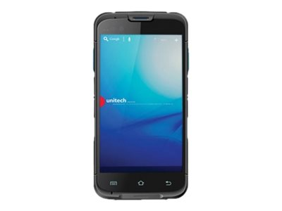"""Unitech EA600 - Data collection terminal - Android 5.1 (Lollipop) - 8 GB - 5"""" color TFT (1280 x 720) - rear camera + front camera - barcode reader - (2D imager) - USB host - microSD slot - Wi-Fi, Bluetooth, NFC - 4G"""
