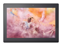 "Lenovo Miix 320-10ICR 80XF - Tablet - with keyboard dock - Atom x5 Z8350 / 1.44 GHz - Win 10 Pro 64-bit - 2 GB RAM - 64 GB eMMC - 10.1"" touchscreen 1920 x 1200 - HD Graphics 400 - Bluetooth - 4G - platinum silver"