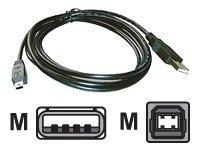 MCL Samar - Câble USB - USB (M) pour mini- USB de type B (M) - 2 m - Sachet