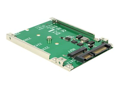 DeLOCK Converter 22 pin > M.2 NGFF - Řadič úložiště - SATA 6Gb/s - 600 MBps - SATA 6Gb/s