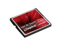 Kingston M�moires Compact Flash CF/16GB-U2