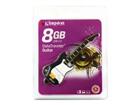Kingston DataTraveler Guitar - USB flash drive - 8 GB