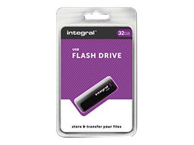 Integral - Jednotka USB flash - 32 GB - USB 2.0 - černá