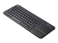 Logitech Wireless Touch Keyboard K400 Plus - Teclado - con panel táctil