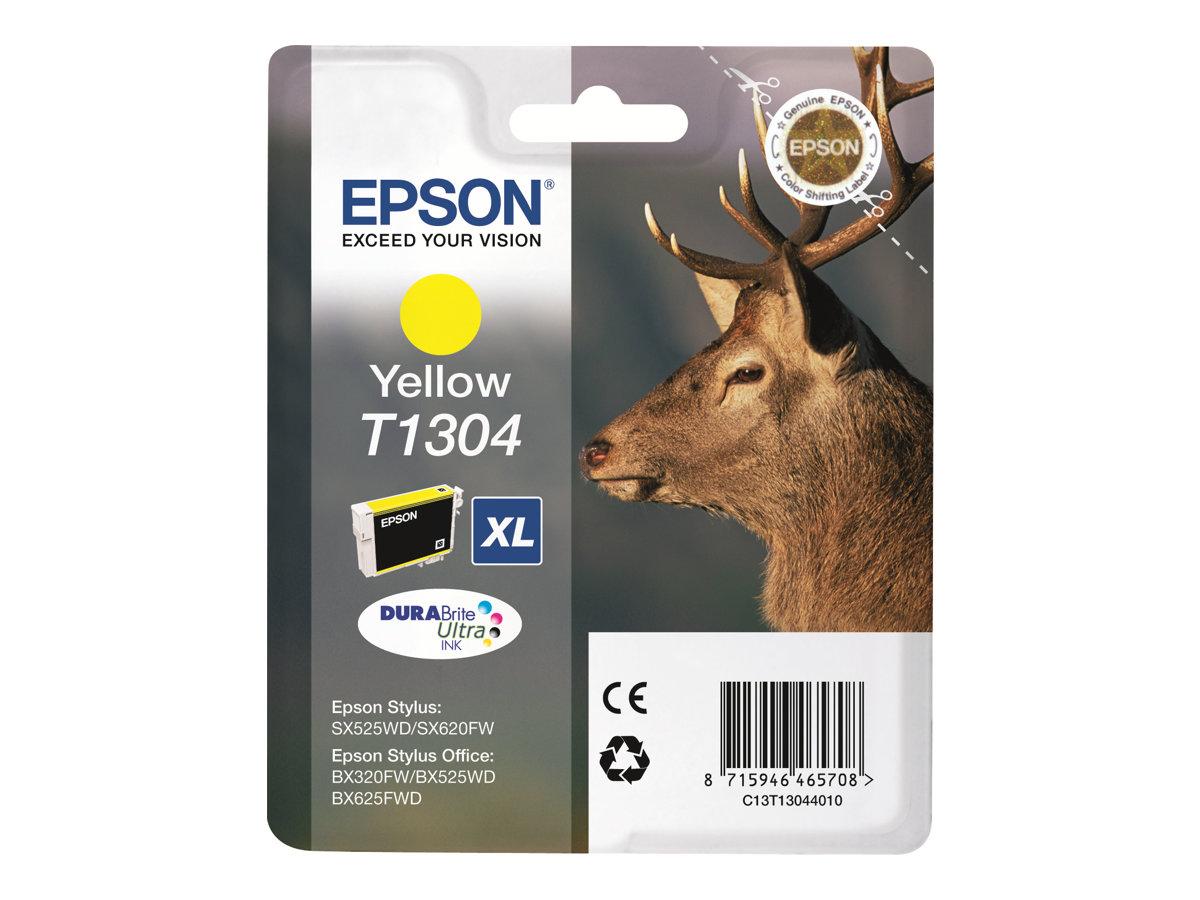 Epson T1304 - jaune - originale - cartouche d'encre