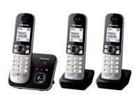 Panasonic KX-TG6823 Trådløs telefon besvarelsessystem med opkalds-ID