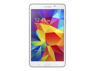"Samsung Galaxy Tab 4 - Tablet - Android 4.4 (KitKat) - 16 GB - 8"" TFT ( 1280 x 800 ) - microSD slot - 4G - T-Mobile - white"